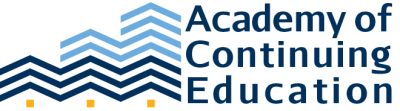 Academy of Continuing Education Logo